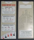 Bridge Instant Sliding Scorer - Rubber Scoring
