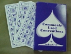 ACBL Bridge Series Commonly Used Conventions E-Z Deal Cards - Spade Series by Audrey Grant