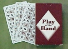 ACBL E-Z Deal Cards: Play of the Hand for the Diamond Series by Audrey Grant