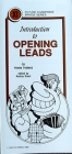 Pamphlet - Fcbs #Xi - Introduction to Opening Leads - Frank Thomas