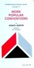 Pamphlet - Cbs #13 - More Popular Conventions - Randy Baron