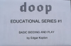 Doop Educational Series #1 Basic Bidding And Play