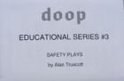 Doop Educational Series #3 Safety Plays by Truscott