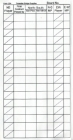 Travellers - Form 254 Individual (500) Sheets - White - View for Bulk Discounts