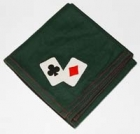 Bridge Card Table Cover - Ace- Handmade 80% Wool