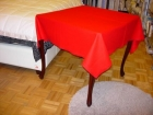 Bridge Card Table Cover Wool Plain Blue Or Red