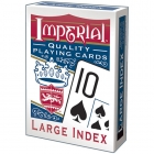 Imperial Playing Cards Poker Size Large Index