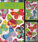 Bridge Game Butterflies Gift Set