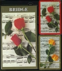 Bridge Gift Set - Music And Roses Pattern
